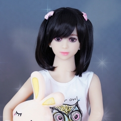 SEXDO 108CM Small Size Young Student Cute Oriental Style Little Girl Sex Doll Lyla