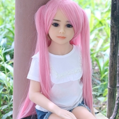 SEXDO 100CM Little Girl Flat Chest Real Love Doll Lauryn