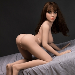 SEXDO 148CM D cup Mixed Beauty Styles Green Eyes Life Like Adult doll Kyra