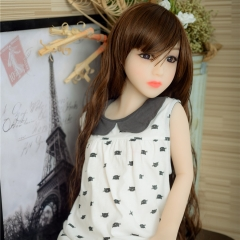 SEXDO Newest 107CM Smart Little Lady Sex Doll With flat chest Love Doll Angel Mini